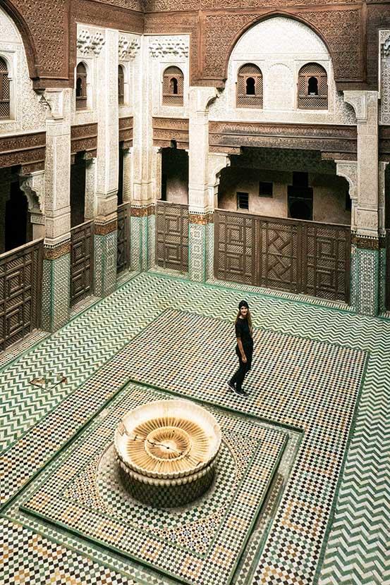 Bou Inania Madrasa in Meknes