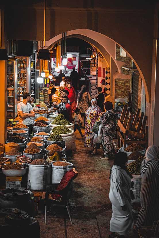 Shops in Meknes