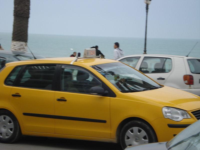 Taxi in Tunisia