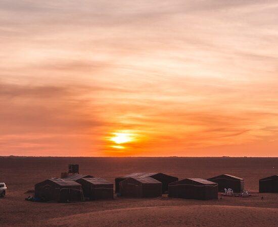 zagora desert campsite