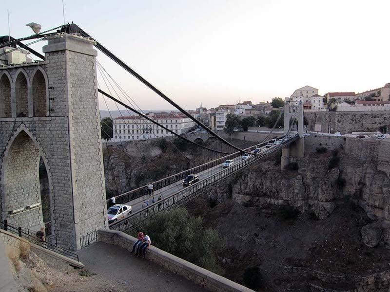 Sidi M'Cid Bridge above the Rhumel Gorge