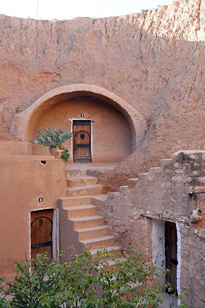 Troglodyte Hotel in Matmata