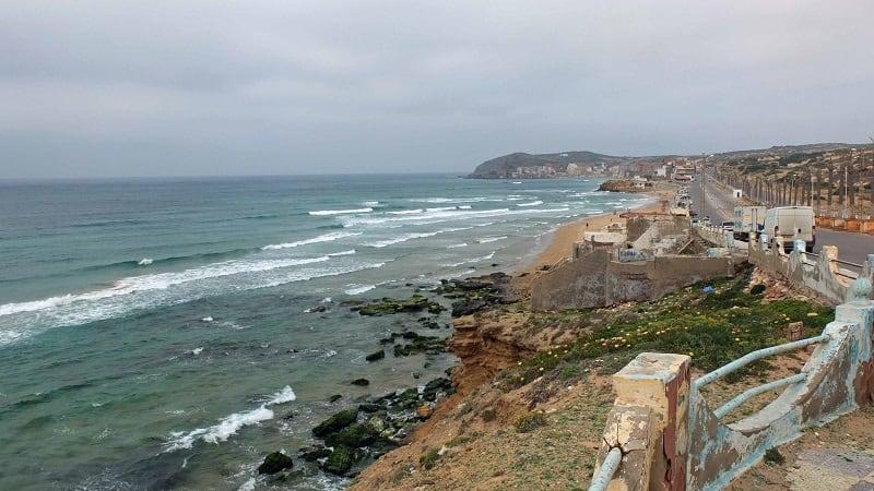 Coast near Oran