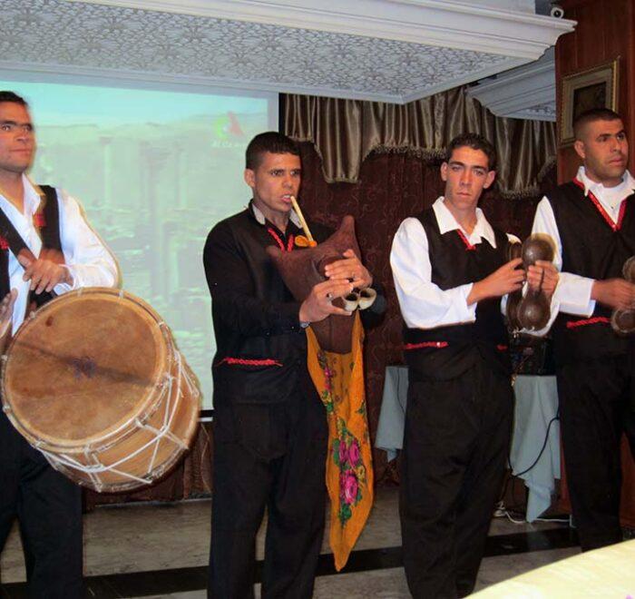 Music group at Setif
