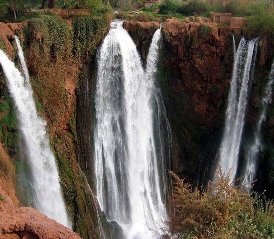 Cascade D'Ouzoud Waterfall