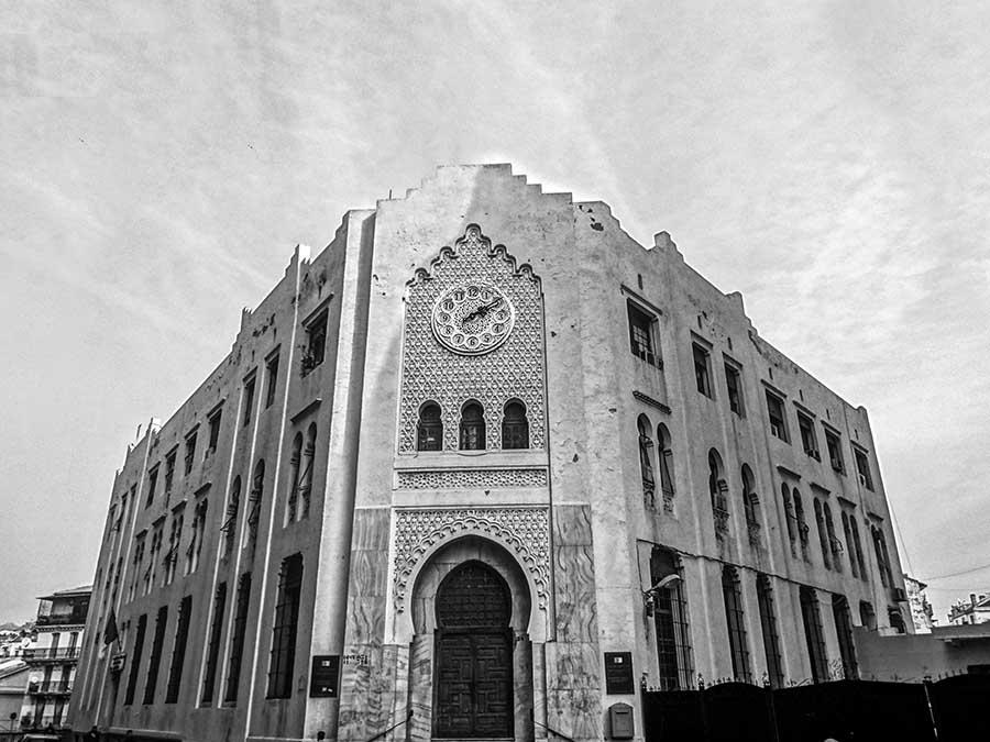 Grande Poste in Algiers