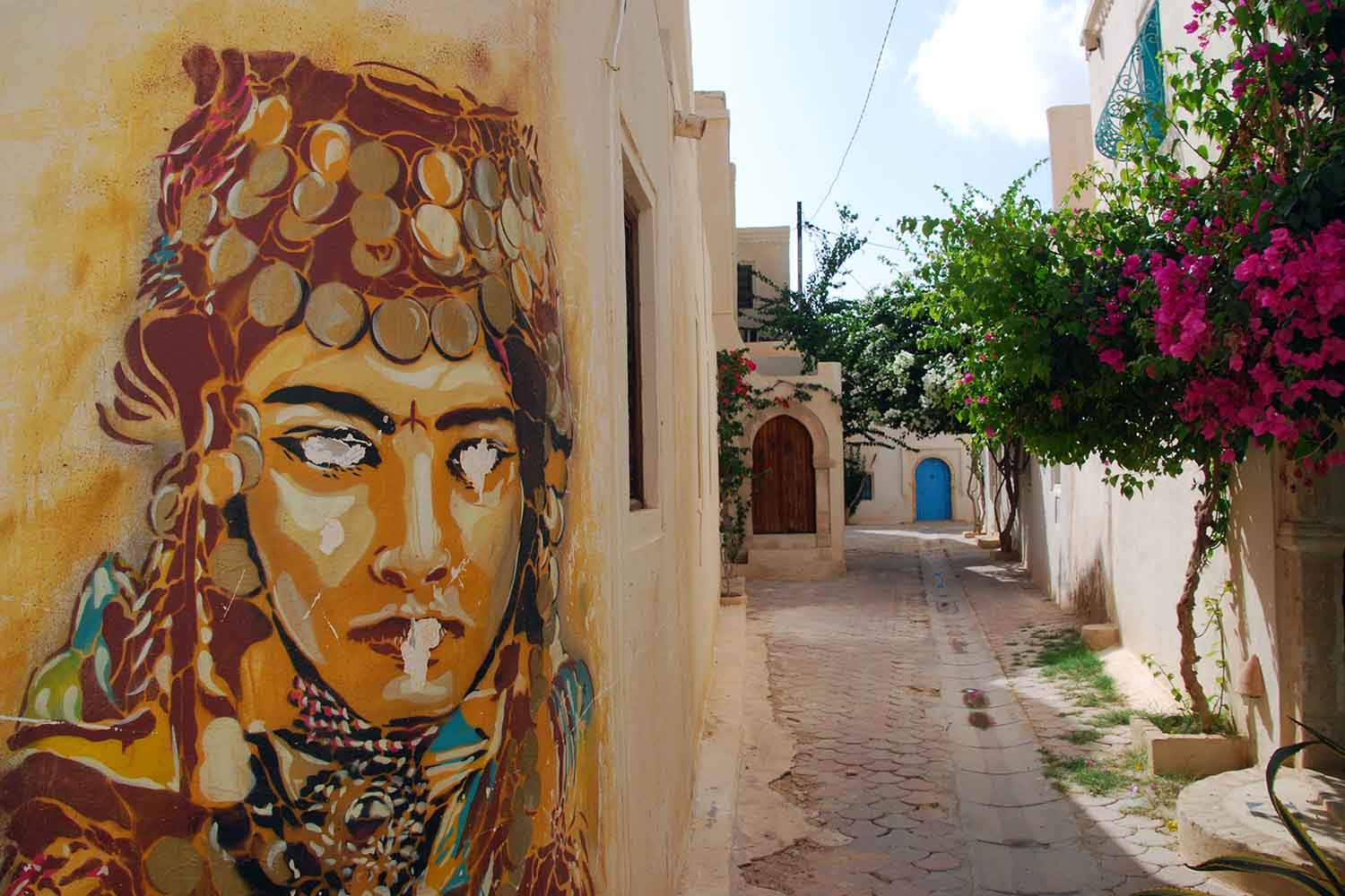 Djerbahood Street Art in Djerba