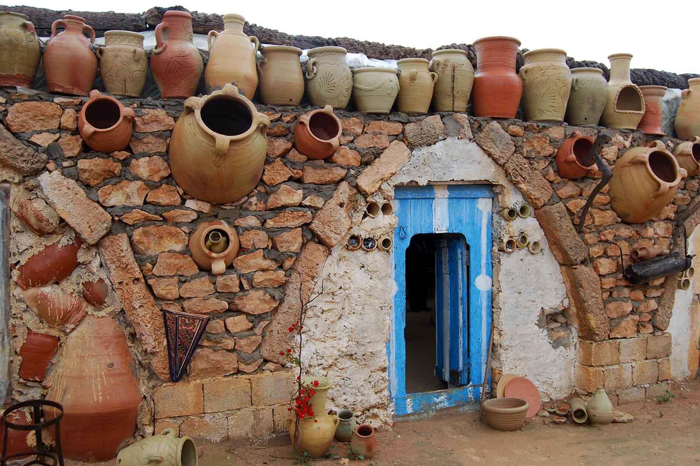 Traditional Pottery at Guellala in Djerba
