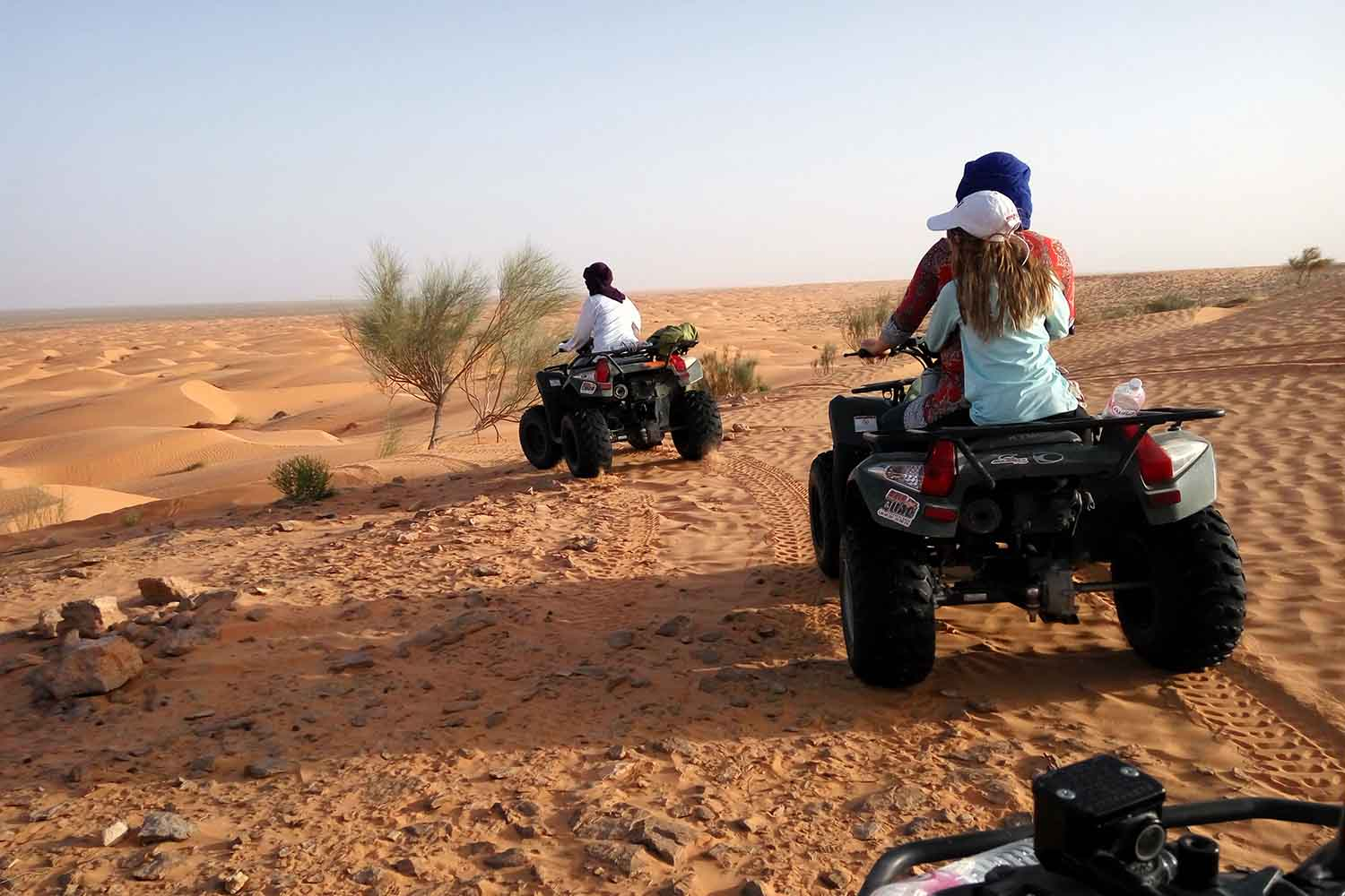 Quad Biking at Ksar Ghilane