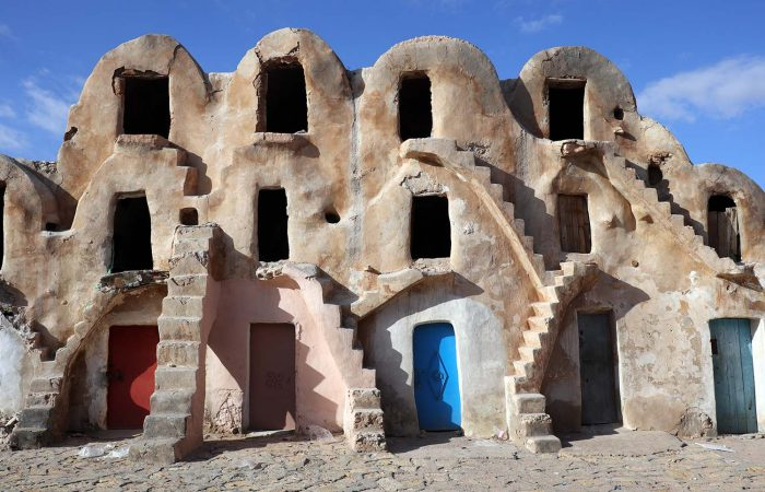 Ksar Medenine - Mos Espa's Slave Quarters in Star Wars: Episode I The Phantom Menace