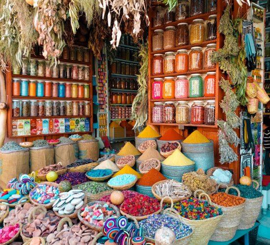 Spiceshop in Marakesh