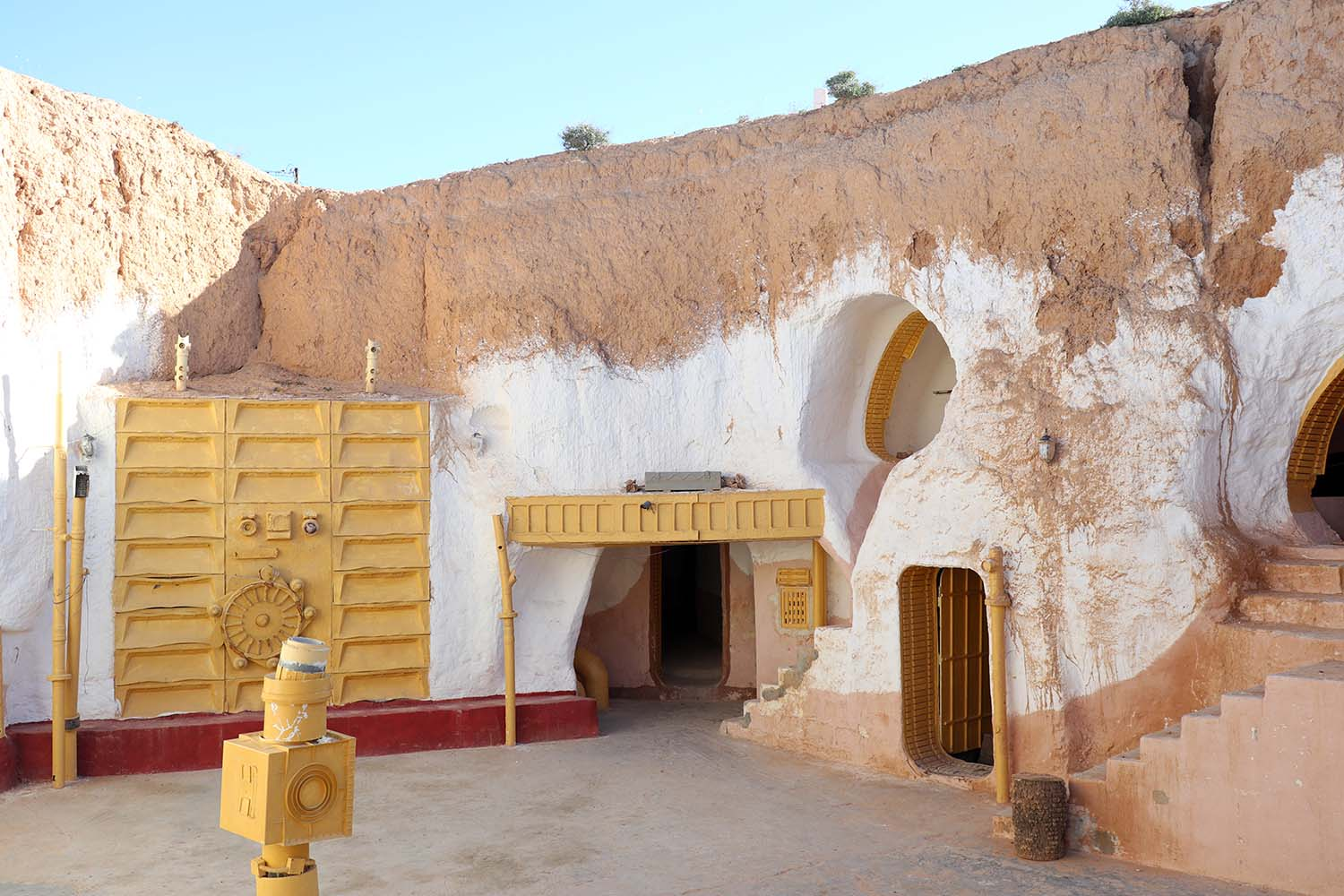 Hotel Sidi Driss in Matmata - Lars Homestead Interior on Tatooine in Star Wars
