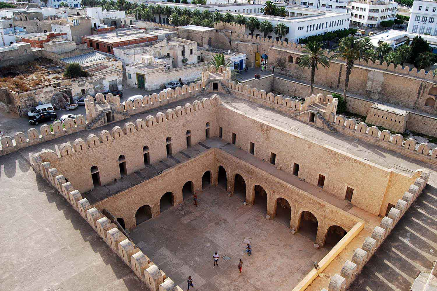 Ribat in the UNESCO World Heritage Site of Sousse Medina