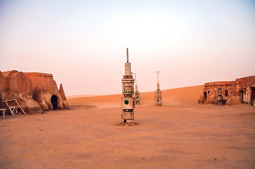 Mos Espa from Star Wars Episode I
