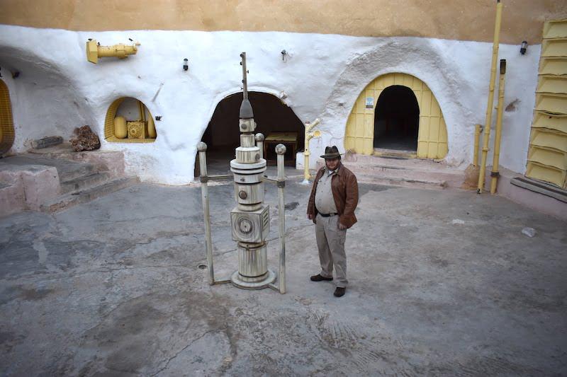 Hotel Sidi Idriss courtyard vaporator