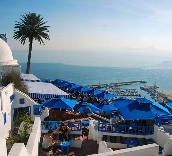 Sidi Bou Said Coastal View