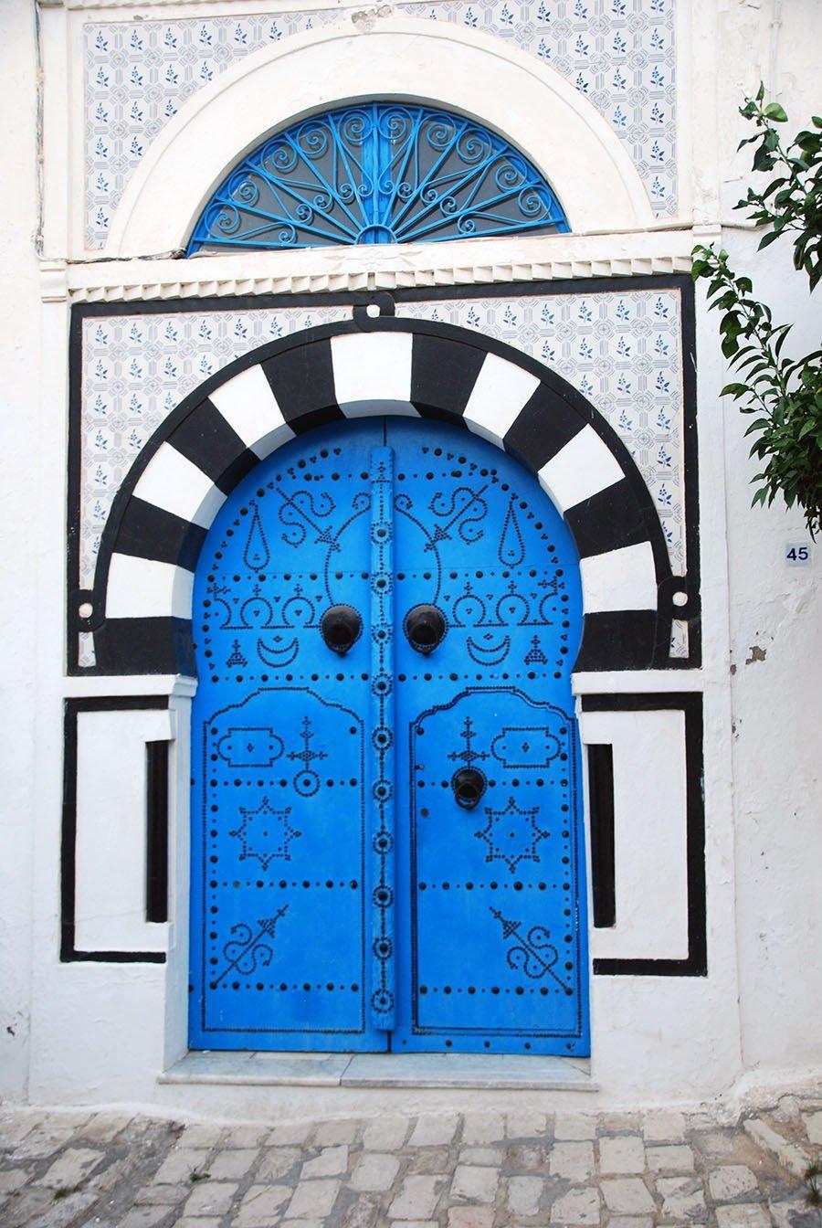 Sidi Bou Said Door