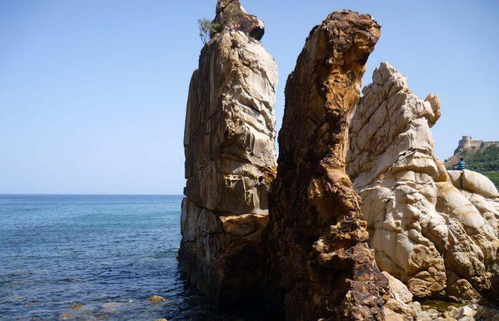 """The Needles"" Rock Formations at Tabarka"