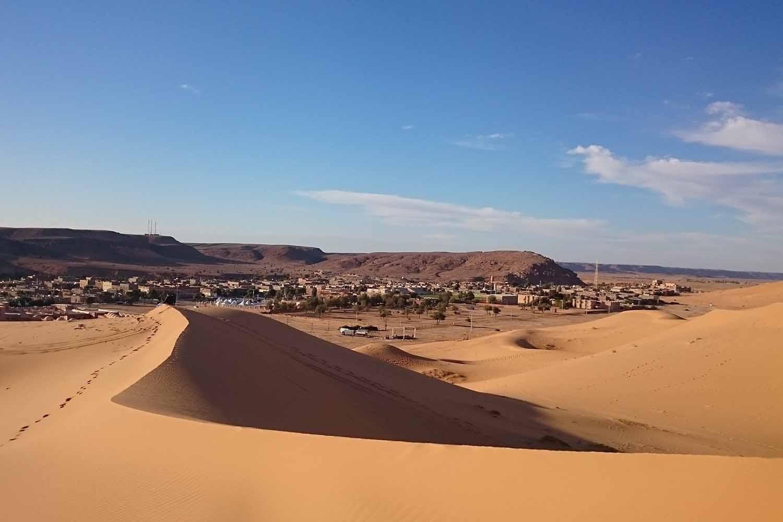 Sahara Dunes in Taghit