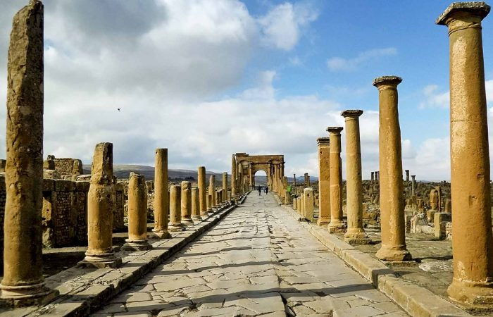 UNESCO World Heritage Site of Timgad