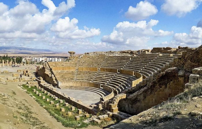 Amphitheatre of Timgad