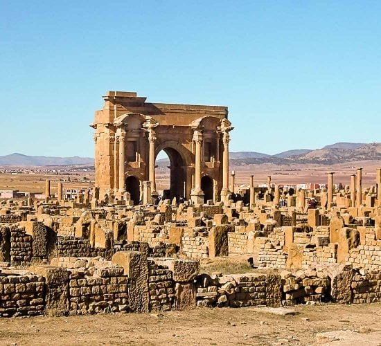 Ancient Roman Ruins of Timgad