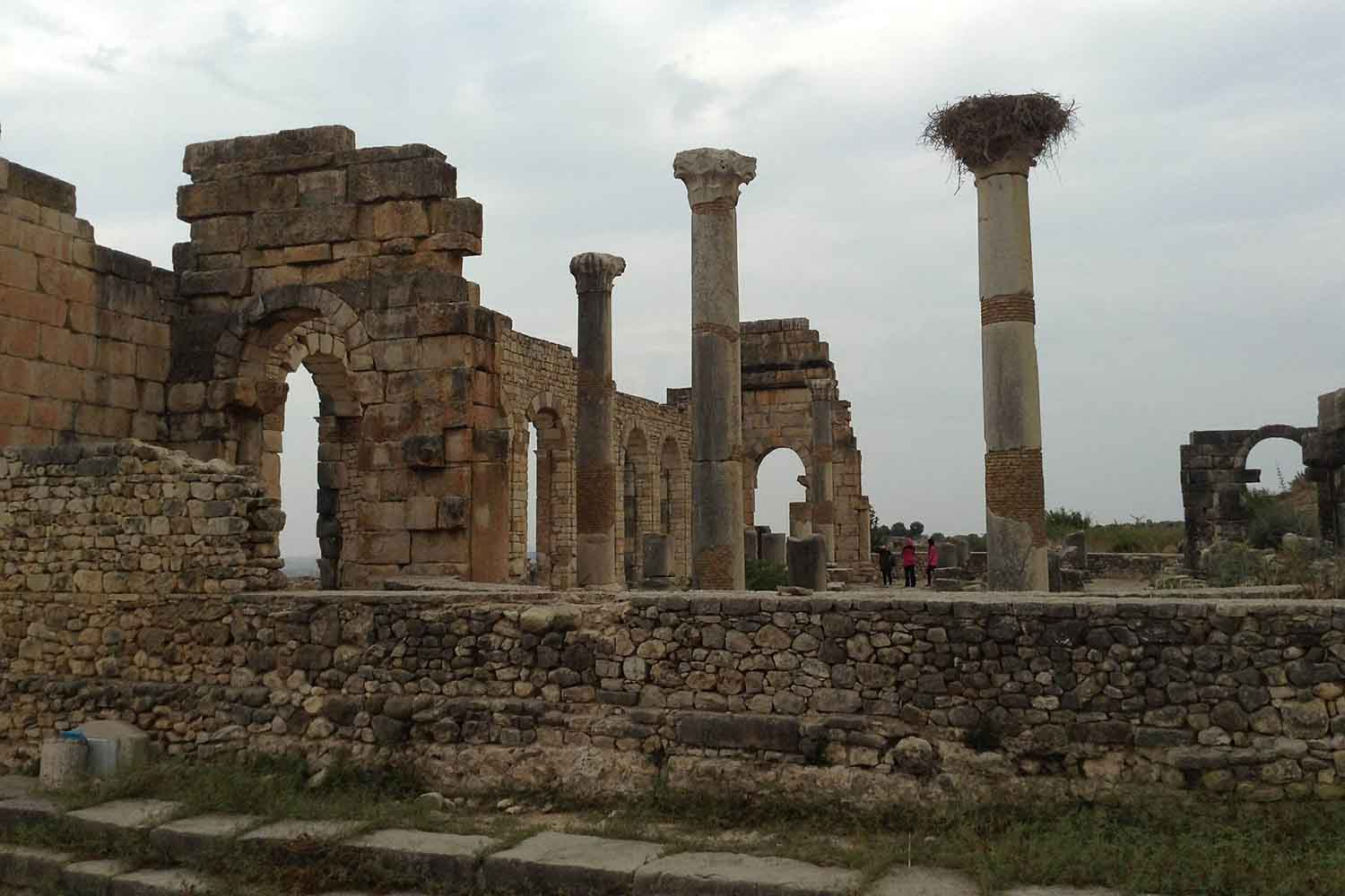 Archaeological Site of the Ancient Roman City of Volubilis
