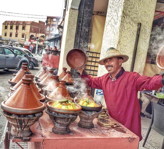 Tajines in Morocco