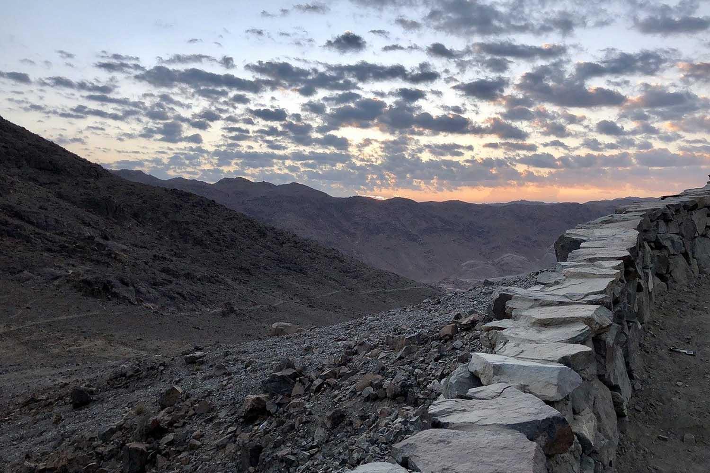 Hiking Up Mount Sinai